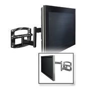 "Universal Articulating Arm Wall Mount For 37""-60"" Screens - Gloss Silver"