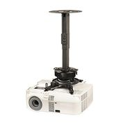 "PRS Universal Projector Ceiling Mount, 8.7""-12.8"" Adjustable Extension - Black"