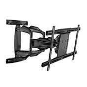 "Smartmount® Universal Articulating Dual-Arm Mount For 37-63"" Screens - Black"