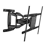 "Smartmount® Universal Articulating Dual-Arm Mount For 37-71"" Screens - Black"