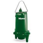 Myers 2 HP Single-Seal Residential Grinder Pump With Leg Kit