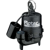 Flotec Professional Series 1/3 HP Submersible Cast Iron Effluent Pump