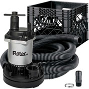 Flotec Stow & Flo All-In-One Emergency / General Utility Pump Kit
