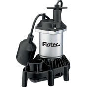 Flotec Submersible Thermoplastic Sump Pump 1/4 HP