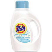 Tide® Free & Gentle 2X Ultra Laundry Detergent, 50 Oz. Bottle 6/Case - PAG13885