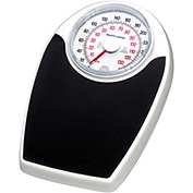 "Health O Meter 142KL Floor Scale 330 x 1lb/150 x 0.5kg 11-1/2 x 10-3/4 Plat. W/ 6-1/2"" Dial 2 Pack"