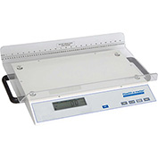 Health O Meter 2210KL Digital Baby Scale Multi-Cap 45 lb x 0.1 oz W/ Measuring Tape, Removable Trayw