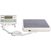 Health O Meter 349KLX Digital Scale 400 x0.2lb/180x0.1kg 12-1/2 x 12 Plat. W/ Remote Display