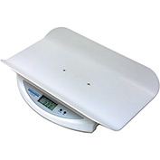 "Health O Meter 549KL Digital Baby Scale 44lb x 0.5oz/20kg x 10g W/ 19-1/4"" x 13"" Tray"