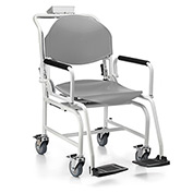 Health O Meter 594KL Digital Chair Scale 600 x 0.2lb/270 x 0.1kg W/ Flip Arm, Foot Rests, Wheels