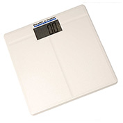 "Health O Meter 800KL Digital Floor Scale 397 x 0.2lb/180 x 0.1kg 12-1/4"" Sq. Platform - 4 Pack"
