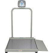 Health O Meter 2500KL Digital Wheelchair Ramp Scale 1000 x 0.2lb/454 x 0.1kg, Portable