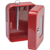 "FireKing® EK0506 Hercules Emergency Key Safe, 4-3/4""W x 3""D x 6""H, 3 Keys"