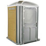 PolyJohn® Comfort XL™ Wheel Chair Accessible Portable Restroom Tan - PH03-1006