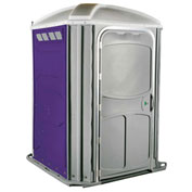 PolyJohn® Comfort XL™ Wheel Chair Accessible Portable Restroom Purple - PH03-1010