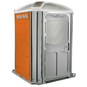 PolyJohn® Comfort XL™ Wheel Chair Accessible Portable Restroom Orange - PH03-1011