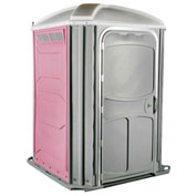 PolyJohn® Comfort Inn™ Wheel Chair Accessible Portable Restroom Pink - PH03-1012
