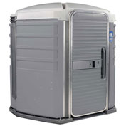 PolyJohn® We'll Care™ ADA Compliant Portable Restroom Pewter - SA1-1005