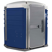 PolyJohn® We'll Care™ ADA Compliant Portable Restroom Dark Blue - SA1-1016