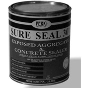 Sure Seal 30 Acrylic Sealer, Clear Gloss Finish Gallon Can - CP-1541-1 - Pkg Qty 4