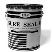 Sure Seal 30 Acrylic Sealer, Brown Gloss Finish 5 Gallon Pail 1/Case - CP-1542