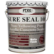 Sure Seal 100 Acrylic Sealer, Clear Matte Finish 5 Gallon Pail 1/Case - CP1544M