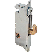 Primeline Products E 2014 Sliding Door Mortise Lock, Round Face, 45 Degree Keyway