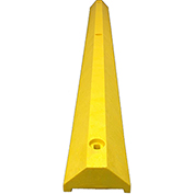 "6' Ultra Parking Block with Hardware, 3-1/4""H, Yellow, ULTRA3672PBY"
