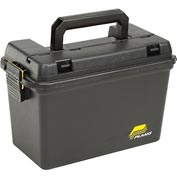 "Plano Molding 1612-98 Field Box Large Without Tray/Gasket 15""L x 8""W x 10""H, Black"
