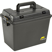 "Plano Molding 1812-96 Field Box  - Extra Large With Tray, No Gasket 17""L x 10-3/8""W x 13""H, Black"