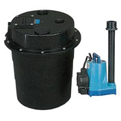 Little Giant 505055 WRS Series 1/2HP Water Removal System - 115V- Piggyback Diaphragm Switch