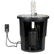 "Little Giant 507711 TSW-B Series Electronic Submersible Sump Pump Kit for 22""D Basin"