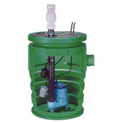 "Little Giant 511622 Pit+Plus Pre-Packaged Simplex System w/Indoor Alarm - 2"" Discharge- 1/2HP"
