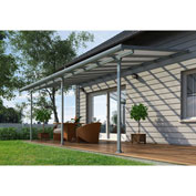 Feria™ HG9420 Patio Cover Kit 10'L x 20'W Gray