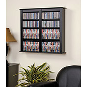 Prepac Manufacturing Black Double Wall Mounted Storage