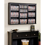 Prepac Manufacturing Black Triple Wall Mounted Storage