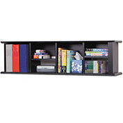 Prepac Manufacturing Black Wall Mounted Desk Hutch