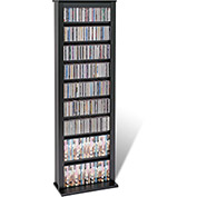 Prepac Manufacturing Black Slim Barrister Tower