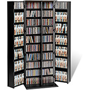 Prepac Manufacturing Black Grande Locking Media Storage Cabinet