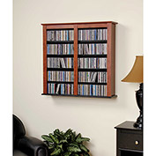 Prepac Manufacturing Cherry & Black Double Wall Mounted Storage