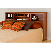 Prepac Manufacturing Cherry King Bookcase Headboard