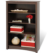 Prepac Manufacturing Espresso 4-Shelf Bookcase