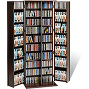 Prepac Manufacturing Espresso Grande Locking Media Storage Cabinet With Shaker Doors
