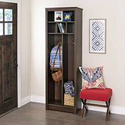 Prepac Manufacturing Space-Saving Entryway Organizer