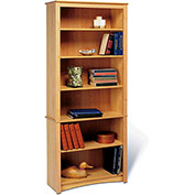 Prepac Manufacturing Maple 6-Shelf Bookcase