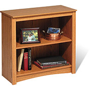 Prepac Manufacturing Oak 2-Shelf Bookcase