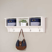 Prepac Manufacturing White Entryway Cubbie Shelf