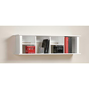 Prepac Manufacturing White Wall Mounted Desk Hutch