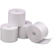 """PM Company® Single-Ply Thermal Cash Register/POS Rolls 05212, 2-1/4"""" x 165', White, 6/Pack"""
