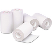 "PM Company® Single-Ply Thermal Cash Register/POS Rolls 05262, 2-1/4"" x 55', White, 5/Pack"